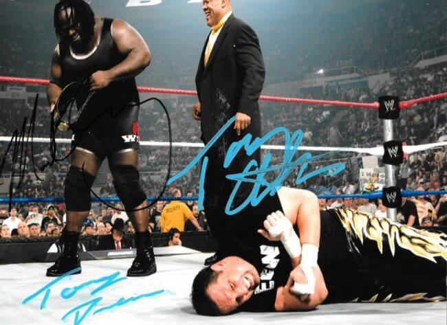 MARK HENRY , TONY ATLAS AND TOMMY DREAMER