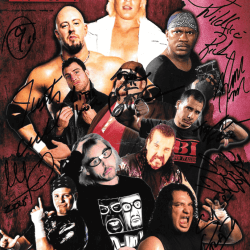 ECW 10 LEGENDS SIGNED