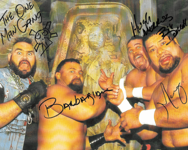 FACES OF FEAR 4 SIGNED