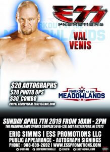 7-4-2019_val_venis_markout_at_the_meadowlands_booking_flier